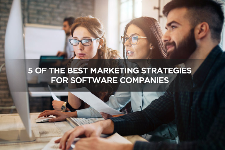 5 of the Best Marketing Strategies For Software Companies